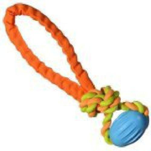 Chomper Tail Waggers Football Tug Toy (RPAL-A8)