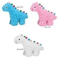 Fresh Water Berber Dinos Dog Toy, Small, Blue (RPAL98/121)