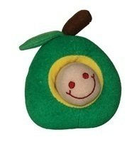 Green Apple Toy With Brown Worm (/TOY)