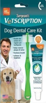 Sergeants Vetscription Dog Dental Care Kit (1/18) (O.A2/PR)
