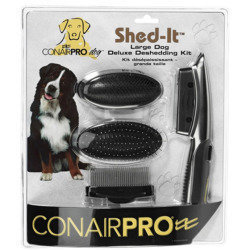 Conair Pet Shed it Deluxe Deshedding Pet Grooming Kit (B.B7)