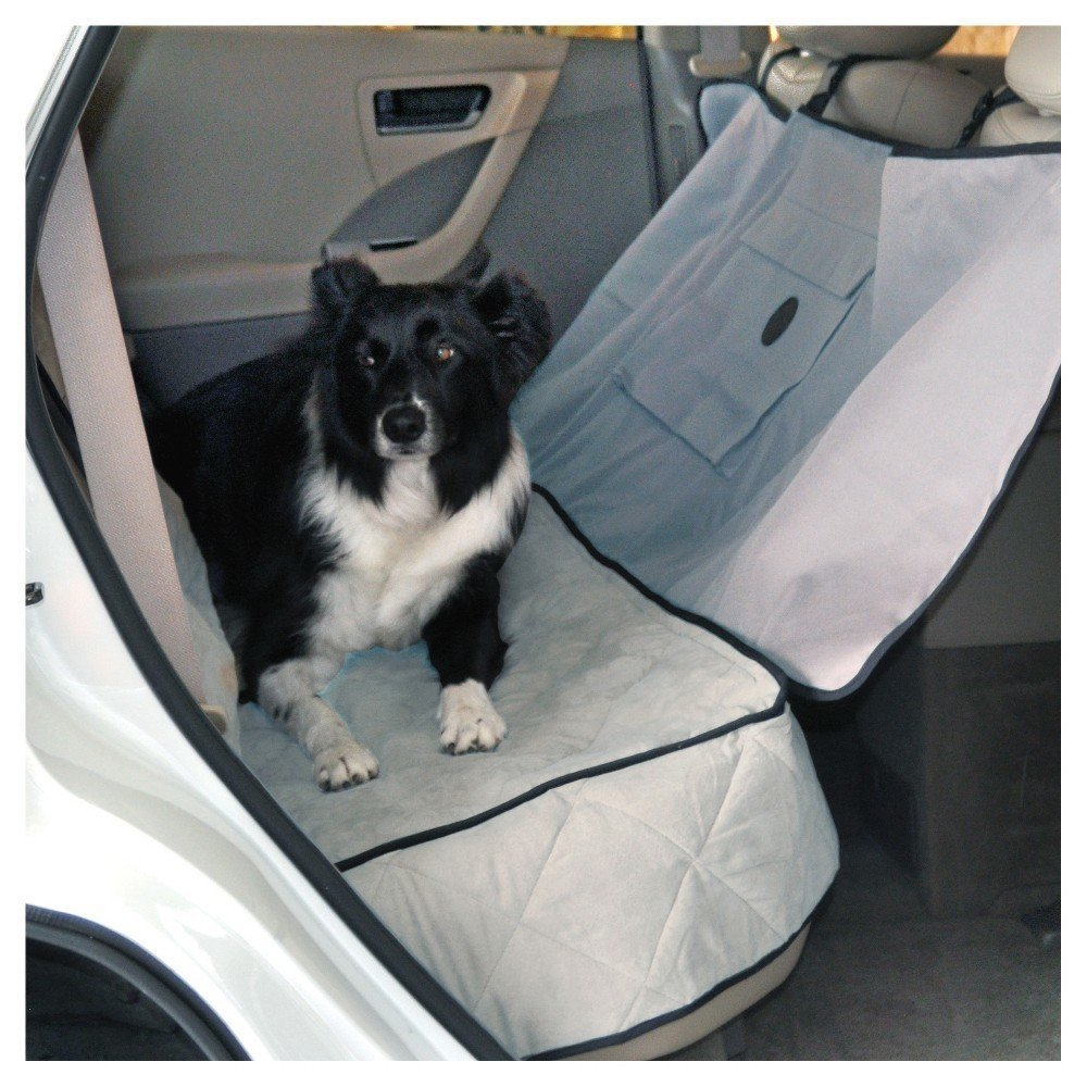 "AMAZON 701002625092 K&H Deluxe Gray Car Seat Saver, 54"" L X 58"" W (B.D2/AM1)"