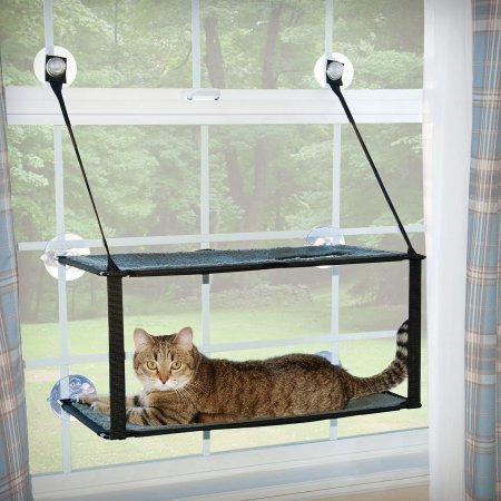 AMAZON-K & H Pet Products Kitty Sill Double Stack EZ Window Mount  (B.C11/PR)