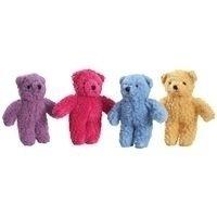 Berber 8.5 Bear Dog Toy - Color: Yellow (B.107/AM2)