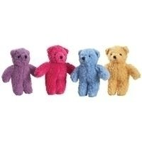 Berber 8.5 Bear Dog Toy - Color: Purple (B.90/AM5)