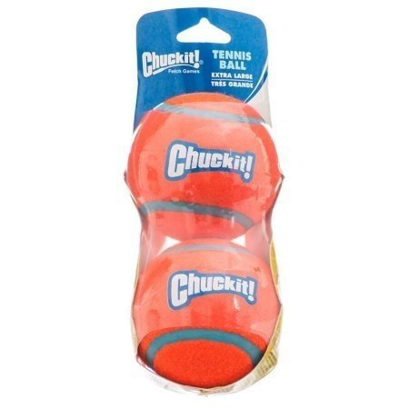 Chuckit Tennis Ball Extra Large 2 pack Shrink Wrap (RPAL-A3/AM3)