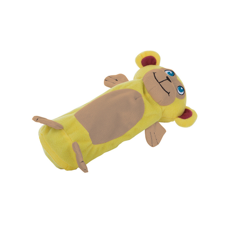 "Outward Hound Bottle Gigglers Yellow Monkey Dog Toy, 10.5"" L X 6"" W X 3.5"" H  (B.A11/AM2)"