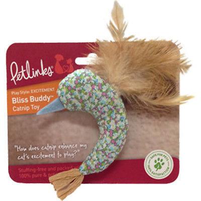 Petlinks Bliss Buddy Hummingbird Catnip Toy (B.A7/AM5)