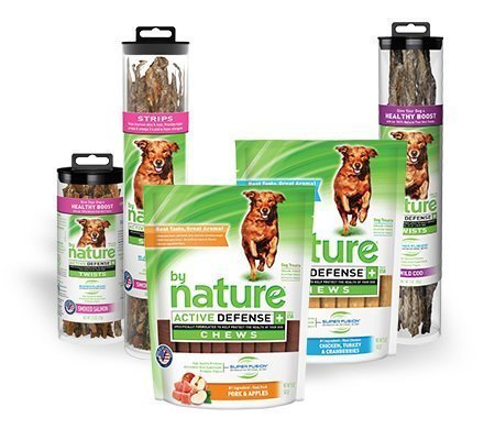 By Nature 100% Natural Wild Cod Fish Skin Twist Dog Treats 1.5 oz
