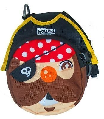 Outward Hound Pal Pak Backpack And Harness W/poop Bag Holder Pirate Medium (B.A18/C6/AM6)