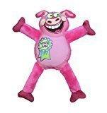 "Petstages Madcap Whatta Ham Canvas & Plush Dog Toy, 12"", Multicolor (RPAL-A5/AM22)"