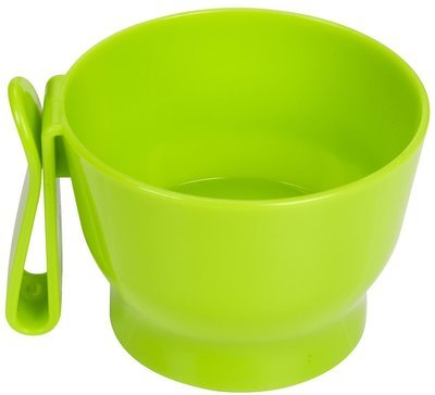 Travel Bowl Green **Also comes in Purple (B.D10/PR/BOWL)