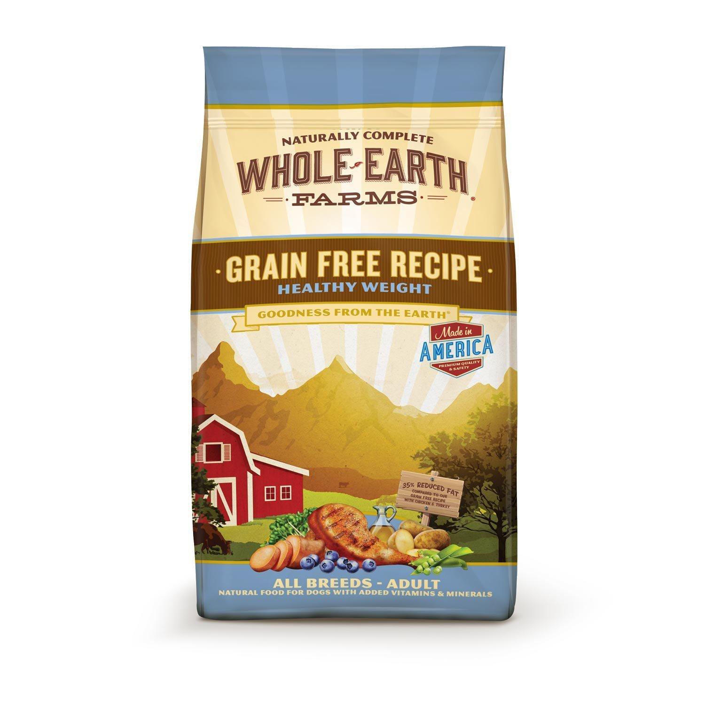 Whole Earth Farms Grain Free Healthy Weight Dog Food, 4 lbs. (2/19) (A.Q3)