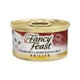 Fancy Feast Grilled Tender Beef & Liver Feast In Gravy Canned Cat Food 24 - 3oz