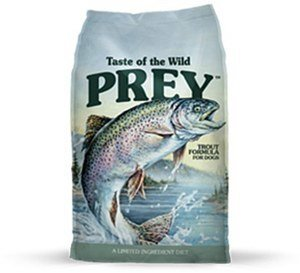 Taste of the Wild Grain-Free Prey Limited Ingredient Trout Dry Dog Food 8 lbs