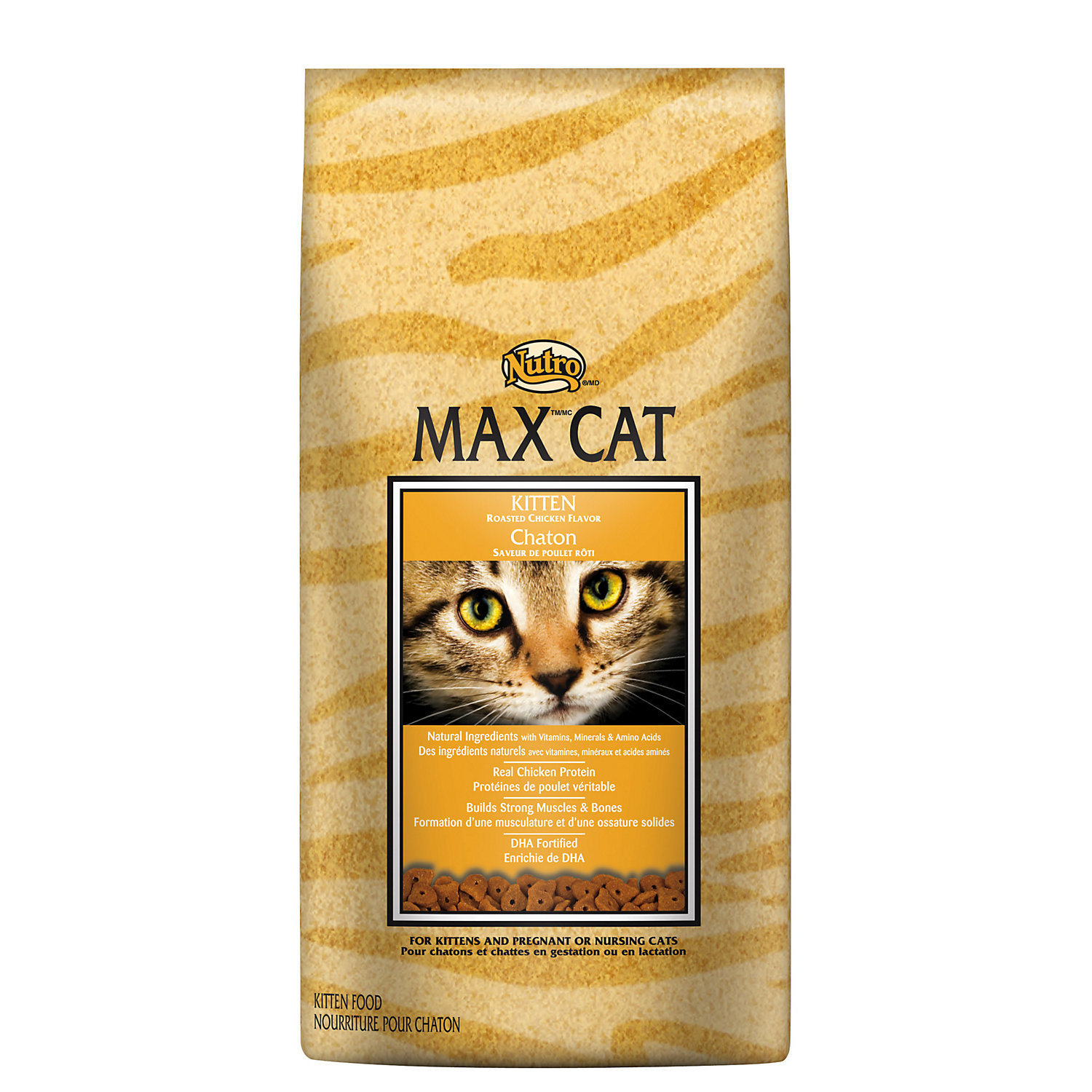 Nutro MAX CAT Kitten Food - Roasted Chicken Flavor 6 lbs. (1/20) (A.H2)
