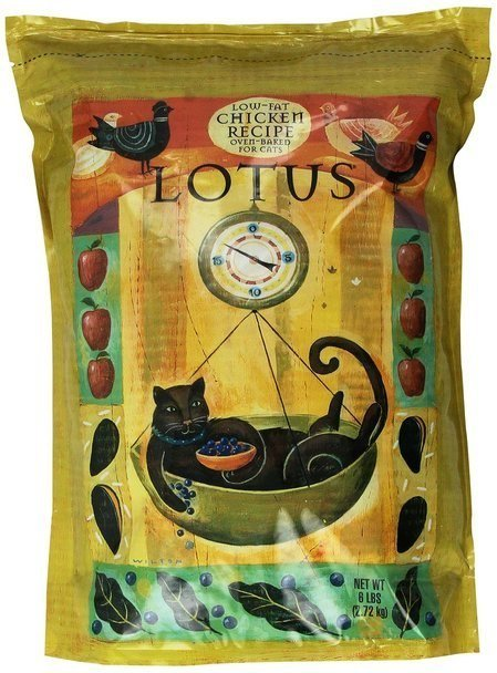 Lotus Wholesome Low Fat Chicken Dry Cat Food 6lb (7/19) (A.L1)