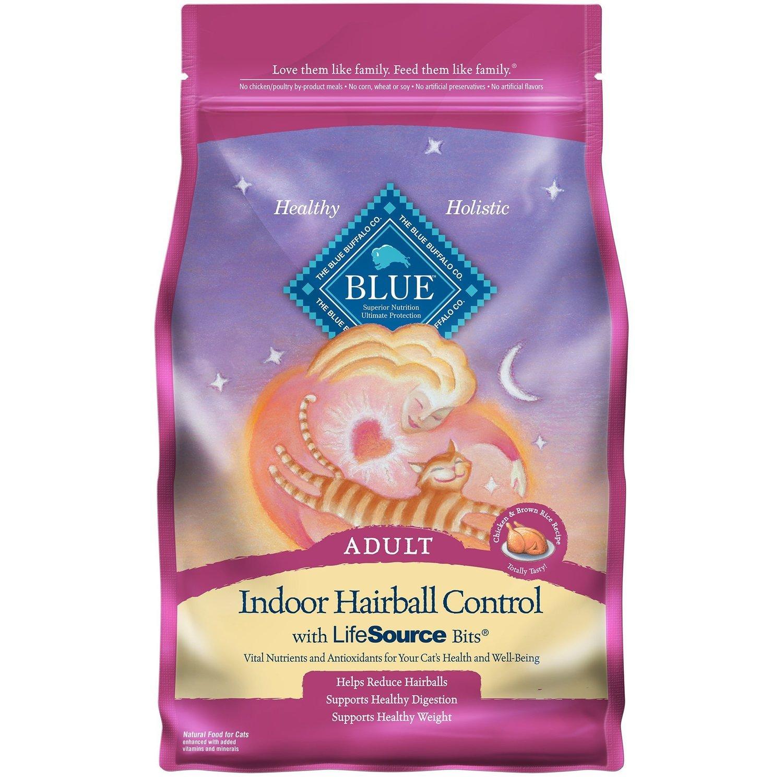 Blue Buffalo Indoor Health Chicken & Brown Rice Adult Cat 3 lbs.