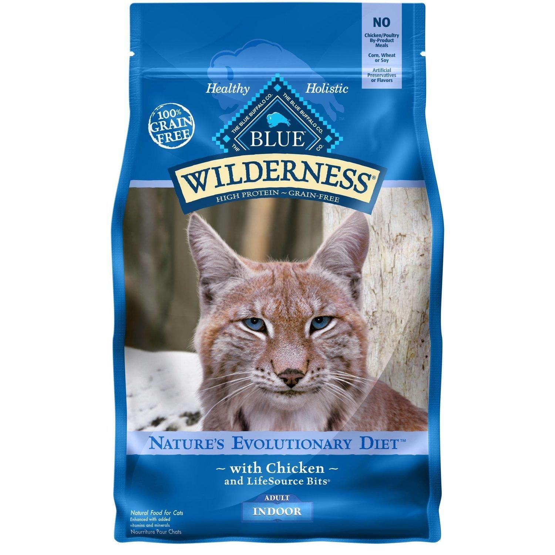 Blue Buffalo Wilderness Indoor Chicken Adult Dry Cat Food, 2 lbs.