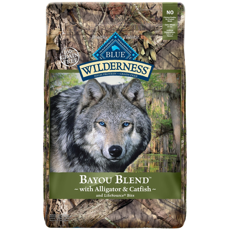 BLUE Wilderness Bayou Blend with Alligator & Catfish Dry Dog Food, 22 lbs.
