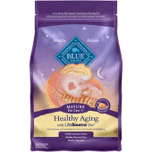 Blue Buffalo Spa Select Mature Cat Dry Food, Chicken and Brown Rice Recipe, 3lb (4/20)