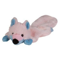 PINK - Chompers Toy Flatty's Skunk for Puppy - PINK � (B.A4/TOY)