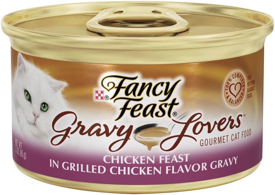 Fancy Feast Gourmet Gravy Lovers Cat Food - Chicken - 1 Count (3 oz)