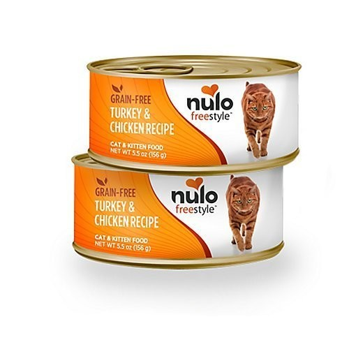 Nulo Free Style Grain Free Turkey & Chicken Recipe Can Cat Food 5.5 oz SINGLE CAN (10/20)