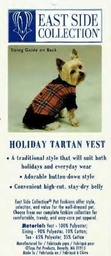 Tartan Vest - XS (B.125)