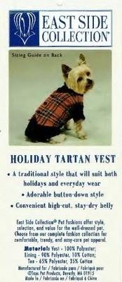 Tartan Vest - SMALL/MEDIUM (B.125) (APPAREL)