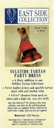 Tartan Party Dress - XXS (APPAREL)