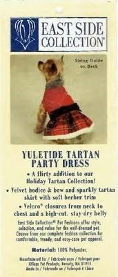 Tartan Party Dress - SMALL/MEDIUM (APPAREL)