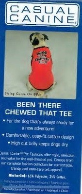 Been There Chewed That Tee - MEDIUM (B.73) (APPAREL)