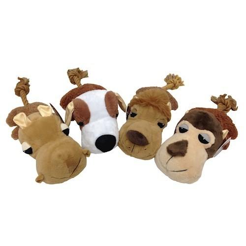 PHOTO CHECK - Chomper Fat Heads Pet Chew Toys - MONKEY (B.A4)