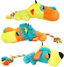 PHOTO CHECK - Chomper Fat Heads Pet Chew Toys - HIPPO (B.A4)