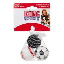 KONG Sport Balls, Assorted, X-Small, 3 Count (T.B3/TOY)