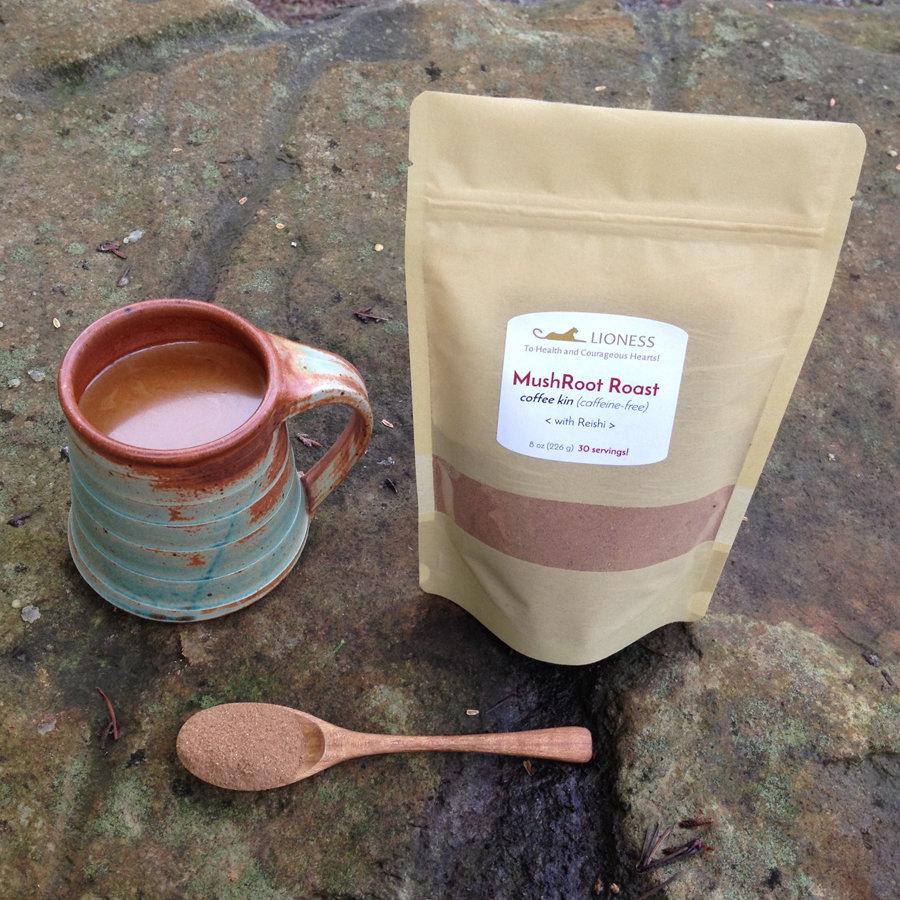 MushRoot Roast™: herbal tea (coffee kin) MR-SM-base