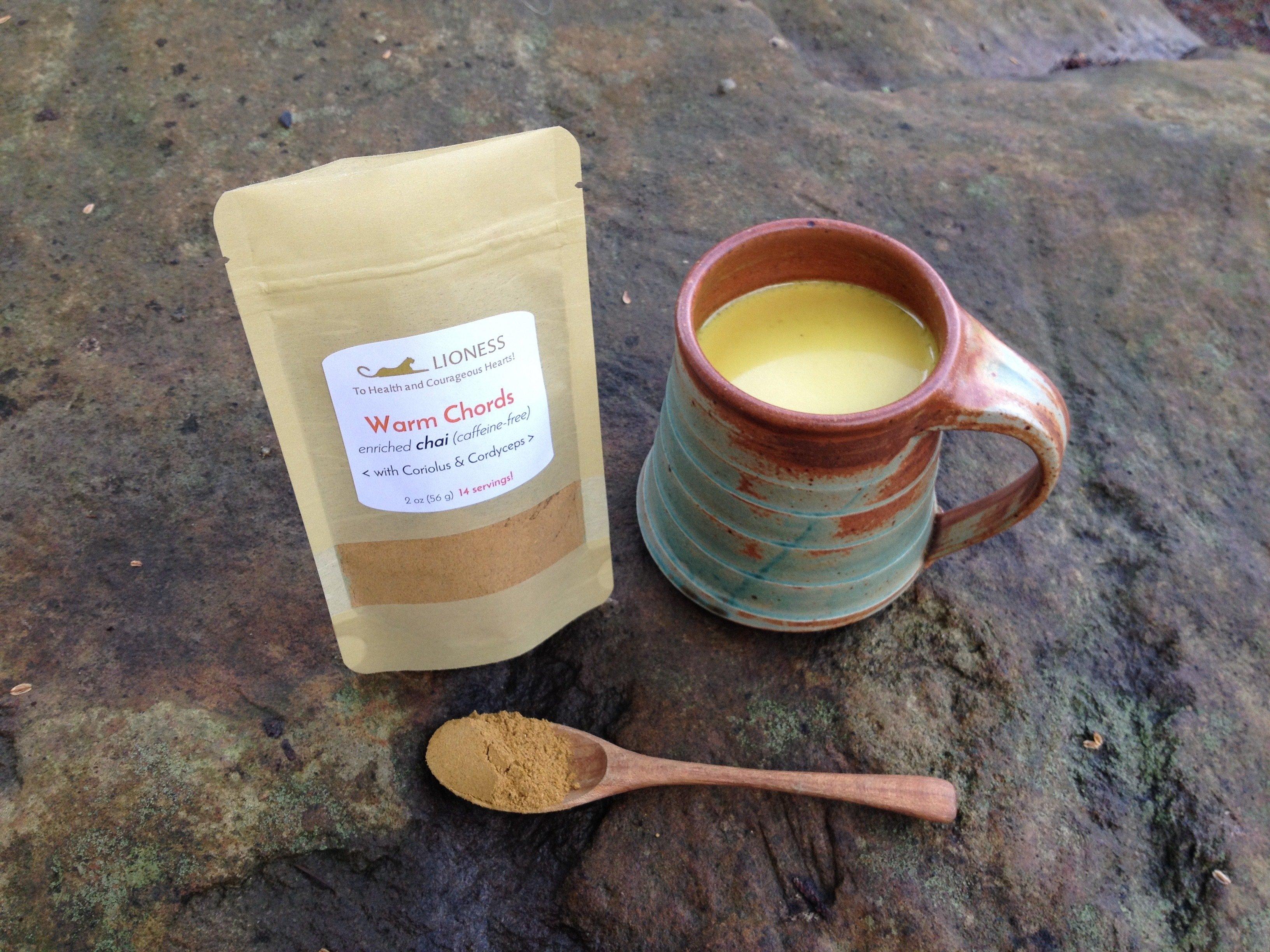 Warm Chords™: spicy chai blend WC-SM-base