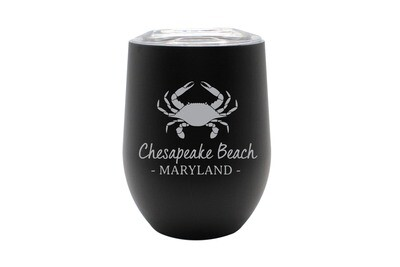 Crab & Customized Location Insulated Tumbler