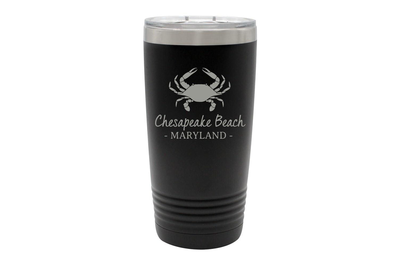 Crab & Customized Location Insulated Tumbler 20 oz