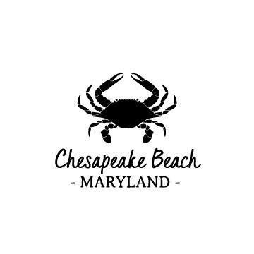 Crab & Customized Location Wine Glass 19 oz