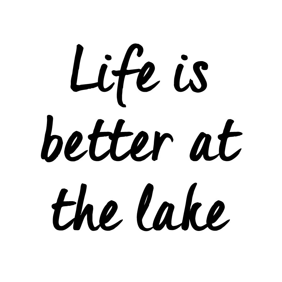 Life is Better at the Lake/Beach Slate Serving Tray
