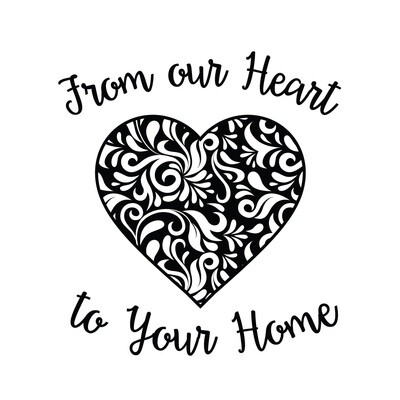 From our Heart to Your Home Slate Serving Tray