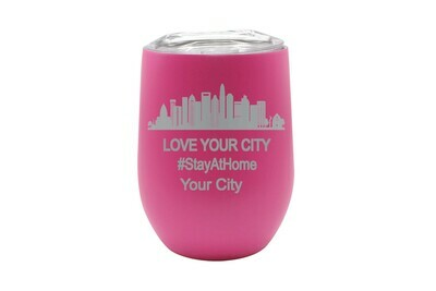 Love Your City/Community (Stayathome/Alonetogether) Insulated Tumbler