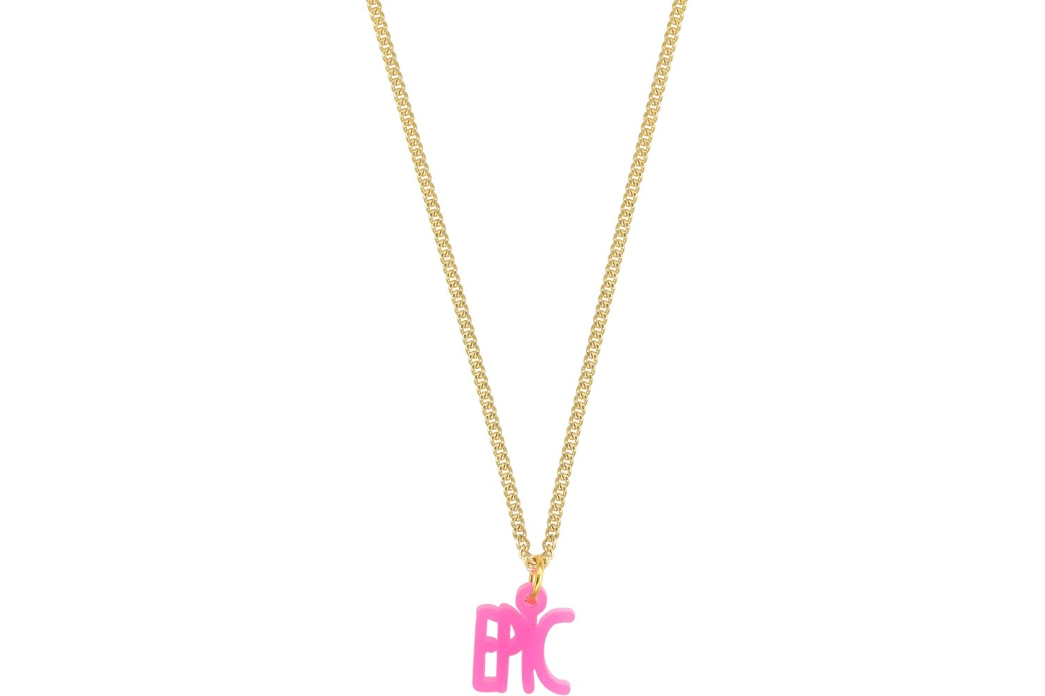 Declaration Style 1 with Chain Necklace