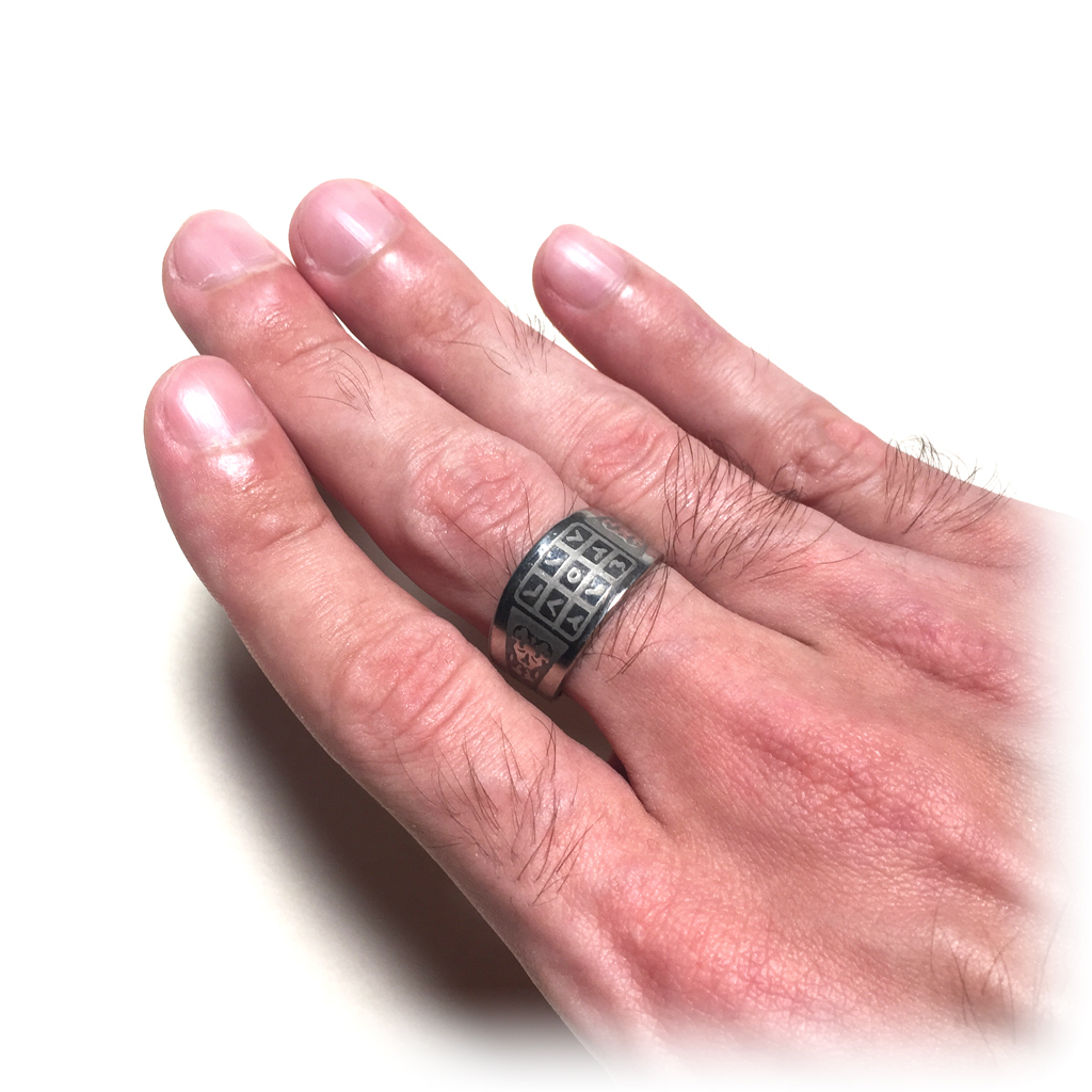 Mercy Inducing Protection Ring with Magical Islamic Spells