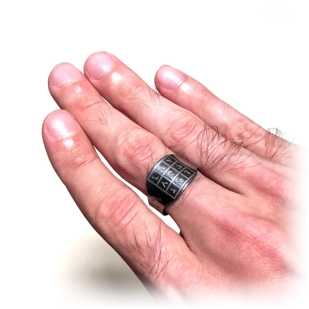 Ring Talisman made from Sacred Metal to induce Compassion