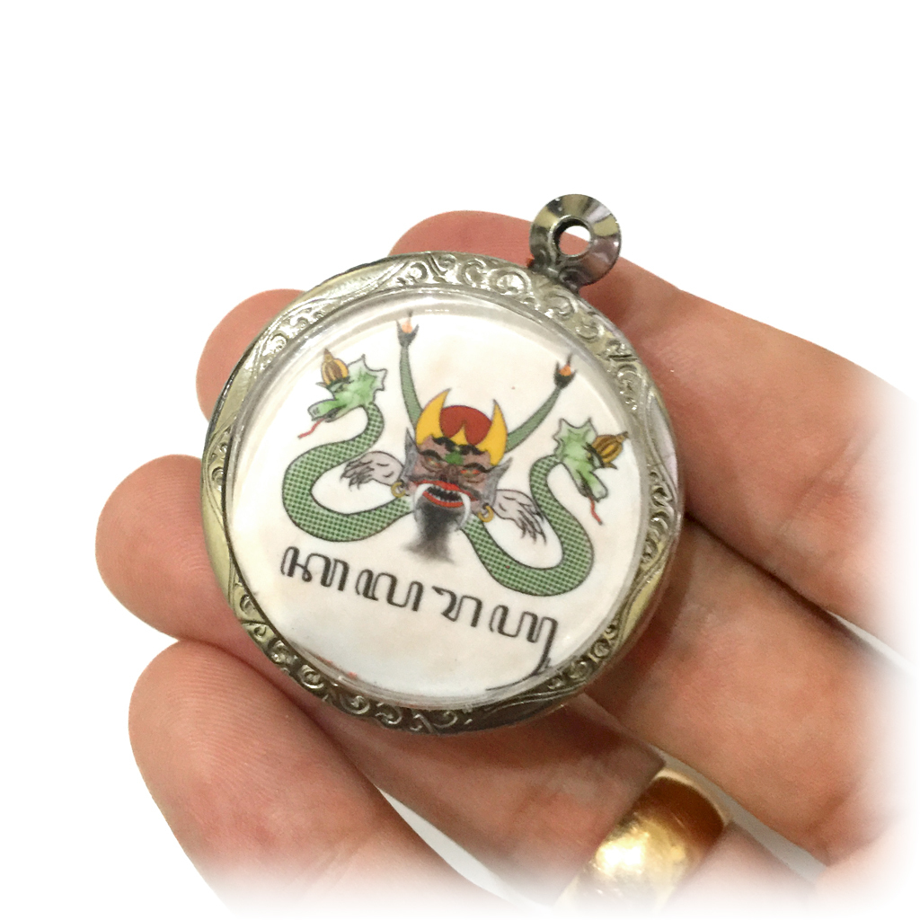 Indonesian Mythological Rahu Locket