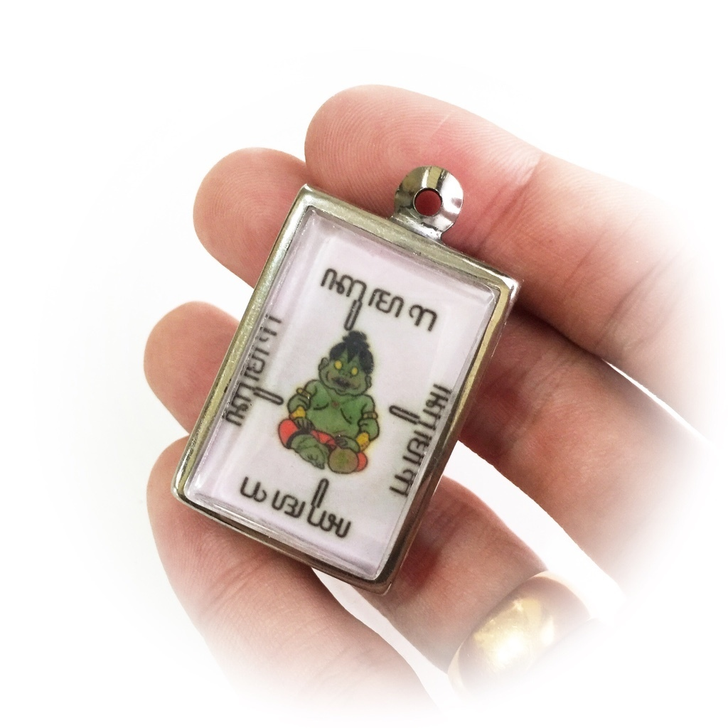 Animist Tuyul Child Spirit Amulet