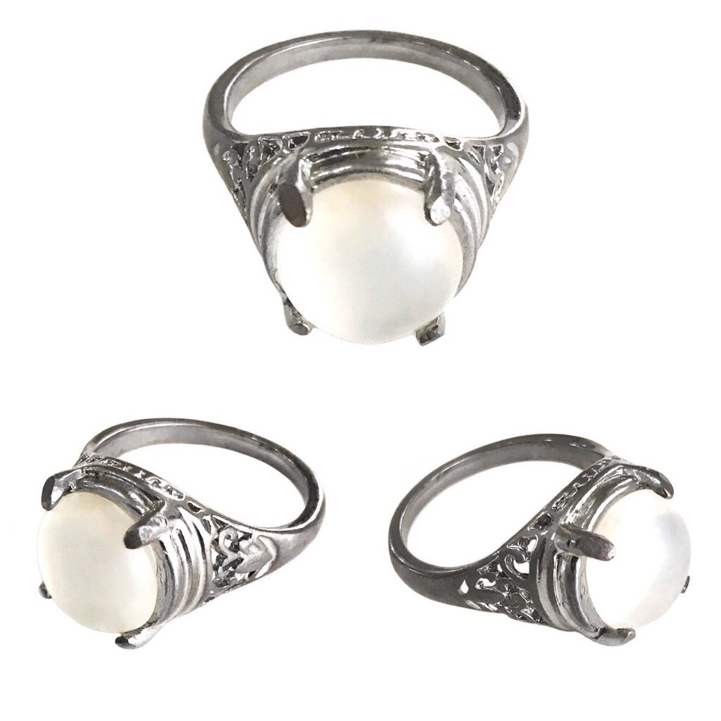Magic Moonstone Jewel Ring possessing Spiritual Qualities that ensure Successful Progress